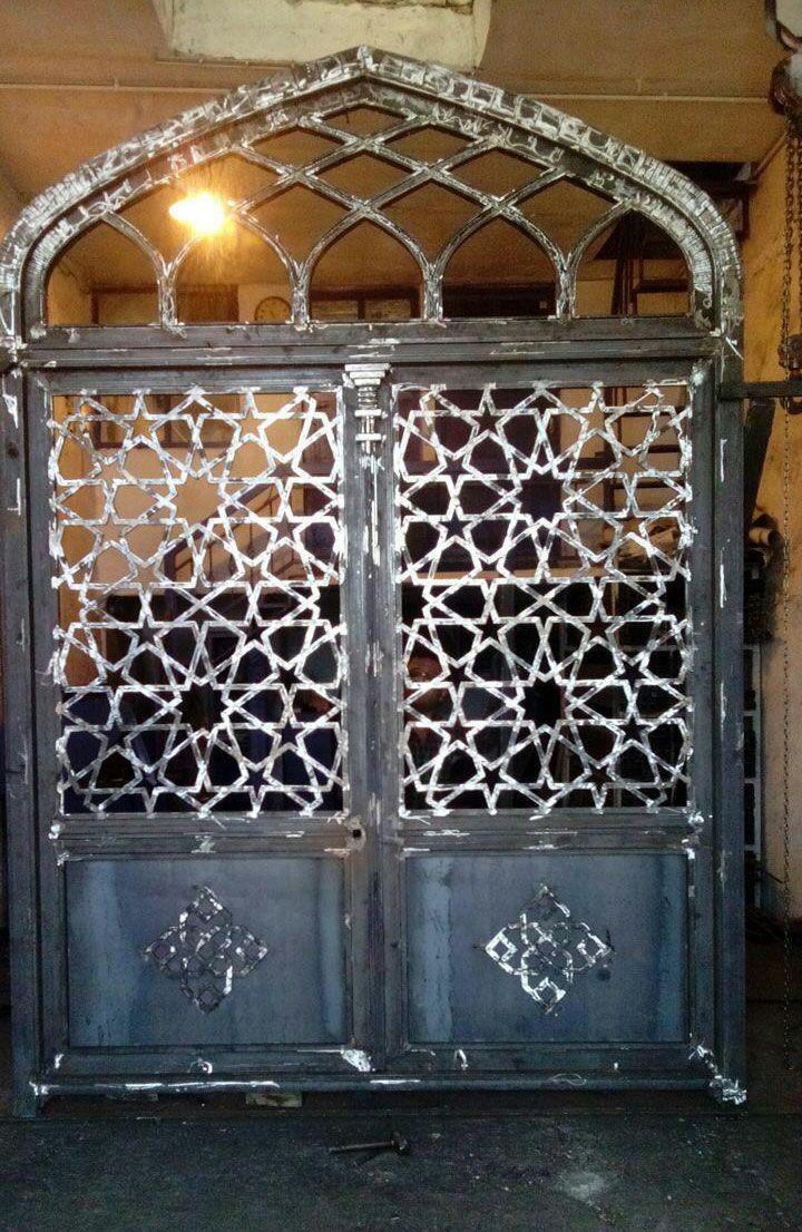 گروه و درب عبداللهی سازنده درب های فلزی مساجد و اماکن زیارتی ...