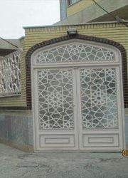 درب گره سازی شده باقوطی  ۲۰در۲۰  موسسه اسرا خیابان صفاییه قم
