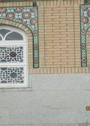 پنجره های حرم حضرت معصومه (س) گره سازی شده از چهار پهلوی ۱۲میلیمتری