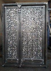 درب فلزی طرح چوب سنندج