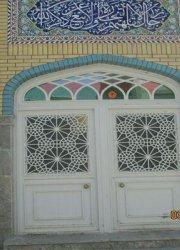 درب زیرزمین مسجد معصومیه قم میدان مطهری