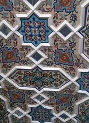 گره سازی سقف کاذب مسجد 2