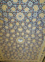 گره سازی سقف کاذب مسجد 1