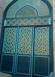 در وردی مسجد بلوار امام موسی صدر قم