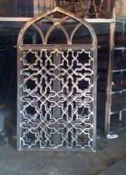 نمونه پنجره فلزی گره چینی شده 1